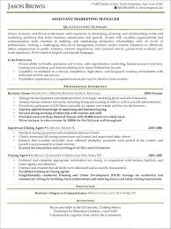 Marketing Manager Cv Samples. Senior Marketing Manager Resume ...