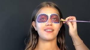 makeup tutorial day of the dead