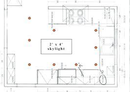 kitchen lighting layout. Kitchen Lighting Layout Brilliant Regarding T