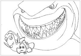 Finding Nemo Printable Coloring Pages Marlin Dory Crush Free