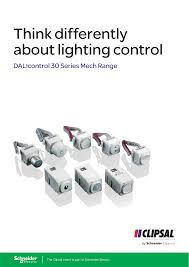 Clipsal Lighting Catalogue Think Differently About Lighting Control Dalicontrol 30