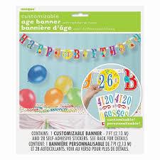 happy birthday customized banners happy birthday banner personalise ocado