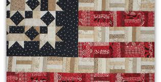 Display Your Colors with This Scrappy Flag Quilt - Quilting Digest & Scrappy American Flag Quilt Adamdwight.com