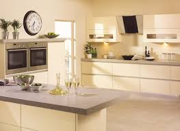 Cream Gloss Kitchen High Gloss Kitchens