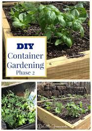 container garden vegetables. DIY Container Garden ~ Planning And Planting A Vegetable Vegetables