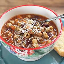olive garden pasta e ioli soup