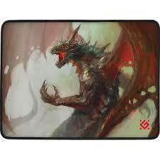 Игровой <b>коврик Defender Dragon</b> Rage M 360x270x3 мм, ткань + ...
