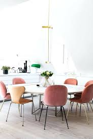 pink dining chairs velvet uk room furniture