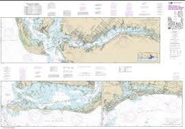 Amazon Com Noaa Chart 11427 Intracoastal Waterway Fort