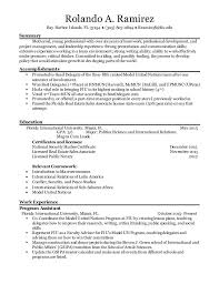 Amazing Fiu Resume Contemporary - Simple resume Office Templates .