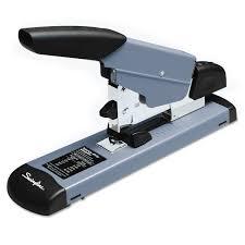 swingline heavy duty stapler 160 sheet capacity black gray com