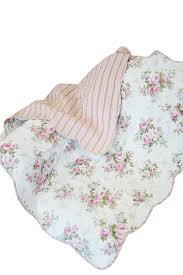 Throw Quilts You'll Love | Wayfair & Rose Perfume Spring Rose Cotton Throw Blanket Adamdwight.com