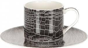 Набор кофейный Royal Porcelain Саби черный, 9020/12079, 12 ...