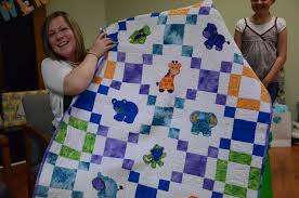 Machine Embroidery Baby Quilts | makaroka.com & Baby Animal Quilt Mom39s Sewing Room Adamdwight.com