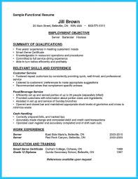 20 Professional Resume Samples For Restaurant Server Position ...