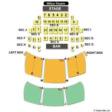 The Wilbur Seating Chart