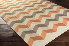 surya frontier ft 606 burnt orange beige light grey area rug intended for and gray plans