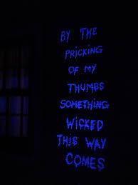 Strobe Light Halloween Ideas Tide Blacklight Macbeth My Favorite Outdoor Halloween