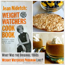What Was The Old Weight Watchers Plan From 1960s Like