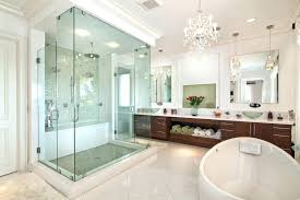 unique bathroom with chandelier or bathroom chandelier lighting interesting chandeliers ideas in safety crystal with glass