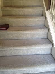 carpet on stairs. carpet on stairs not installed correctly, indianapolis repair re-installed it all!