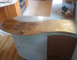 Faux Wood Concrete Countertop