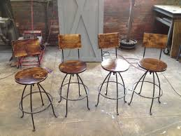 rustic counter height bar stools duluthhomeloan attractive swivel leather with backs decoreven affordable tractor seat white
