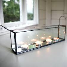 glass display box zinc and glass display box extra large glass display box
