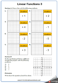 straight line graphs worksheet 3 straight line graphs maths worksheet and answers