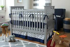 blue and gray baby boy bedding baby blue and grey nursery bedding
