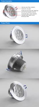 recessed adjustable led downlight 7w brightness led bathroom down lighting bathroom down lighting