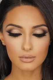 imagini pentru wedding makeup for brunettes with brown eyes