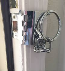 Strike Plate Lock Home Security Door Chain Locks