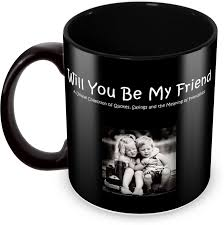 Tuelip Printed Friendship Quotes About Saying The Meaning Of Friendship For Tea And Coffee 350 Ml Ceramic Mug
