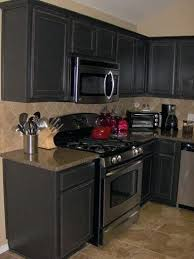 Antique Black Kitchen Cabinets Interesting Design Ideas