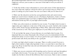 example of a high school resume sales associate objective for