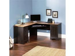 corner desk for office. L-Shaped Brown Corner Desk For Office