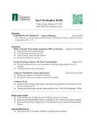 LNA Resume. Ian Christopher Reilly 79 Davis Street Rutland, ...