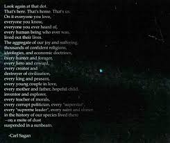 Pale Blue Dot Quote Cool Happy Carl Sagan Day He Would Have Been 48 Today Geekologie