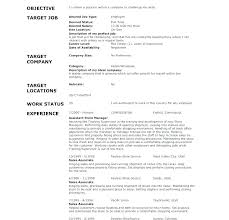 General Resume Objective For Any Job