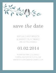 Save The Date Cards Template Printable Love Bird Save The Date Card Template