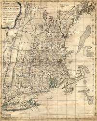 map of colonial new england