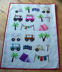 house of spoon: camping cot quilt - babyroom9 & So i made a mini quilt for the cot to match the larger one i made before.  Boy, am i getting bored of sewing these shapes!! lol! Adamdwight.com