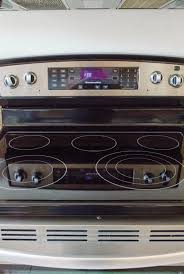 Electric stove top Burnt The Kitchn How To Clean Glass Electric Stovetop Kitchn