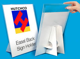Cardboard Easel Display Stand Unique Affordable Countertop Carboard Easel Back Sign Holders