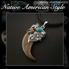 wild hearts rakuten global market sterling silver 925 bear claw native american sterling silver opal turquoise inlay bear pendant