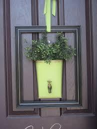 front door decorNot So Usual front door decor No Wreaths Allowed