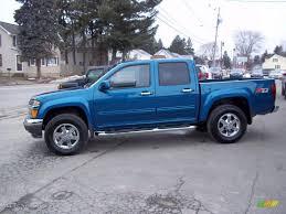 2011 Aqua Blue Metallic Chevrolet Colorado LT Crew Cab 4x4 ...