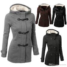 winter warm womens claw clasp wool blended classic pea coat jacket women coat with 57 15 piece on nyc s dhgate com