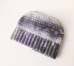 Free Crochet Pattern For Messy Bun Hat Amazing 48 Crochet Messy Bun Hat Patterns